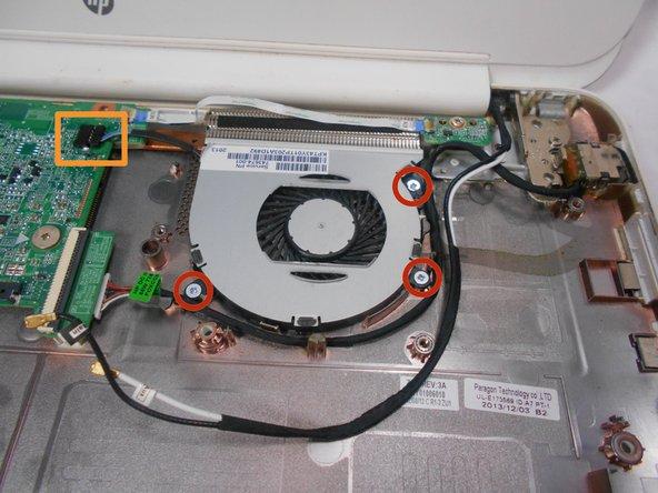 HP Chromebook 14-Q010DX Fan Replacement