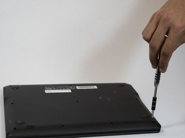 Make sure that the laptop is turned off and disconnected from any power sources.