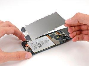Plaque de protection de l'écran LCD