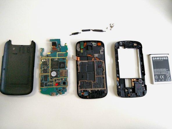 Disassembling Samsung Galaxy S Blaze Whole Device