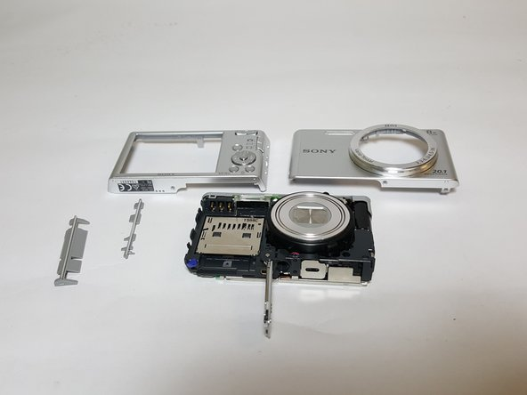 Sony Cyber-Shot DSC-W830 Front and Back Panel Replacement