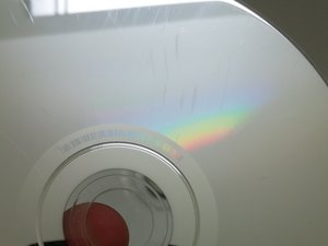 Kratzer von einer CD entfernen