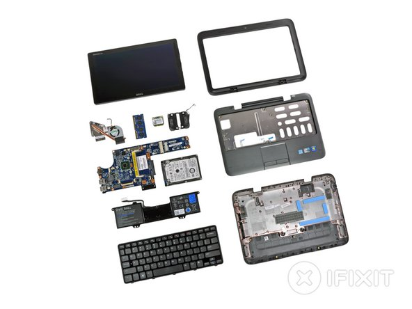 Dell Inspiron Duo Repairability Score: 7 out of 10