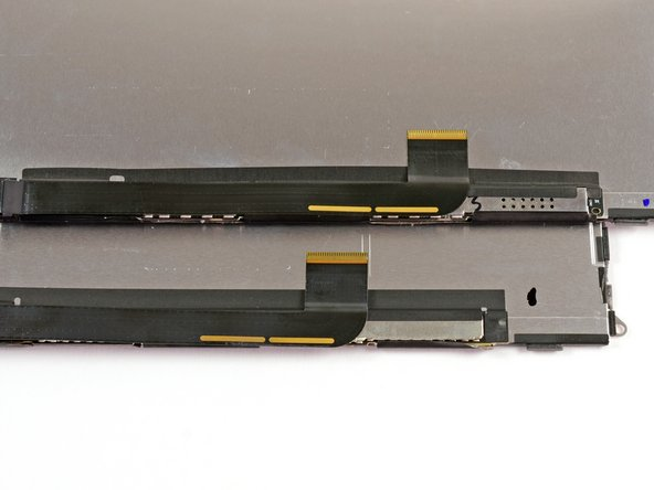 Continuing to examine differences in the LCD cables…