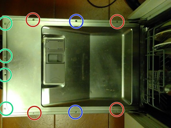 IMPORTANT ---> Disconnect the dishwasher from power before attempting the rest of the steps! <--- IMPORTANT