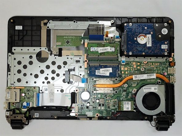 HP Pavilion 15-ab165us Battery and Back Cover Replacement