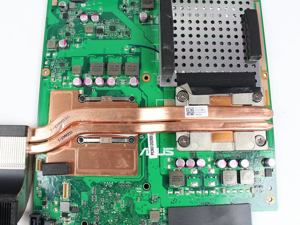 Asus Zen AiO Pro Z240IC Heat Sink Replacement
