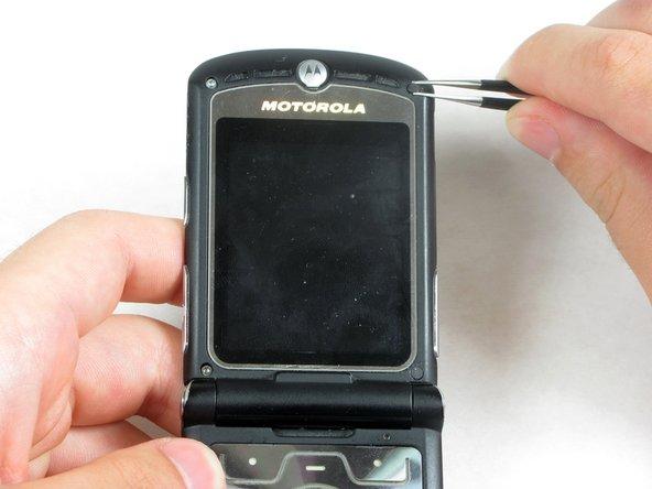 Motorola Razr V3 Upper Casing Replacement