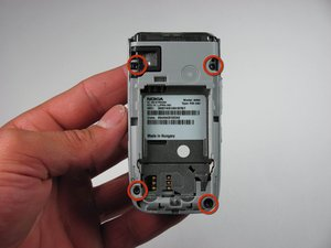 Démontage d la base du Nokia 6086