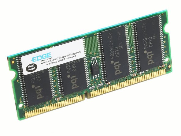 Sony Vaio PCG-F420 RAM Replacement