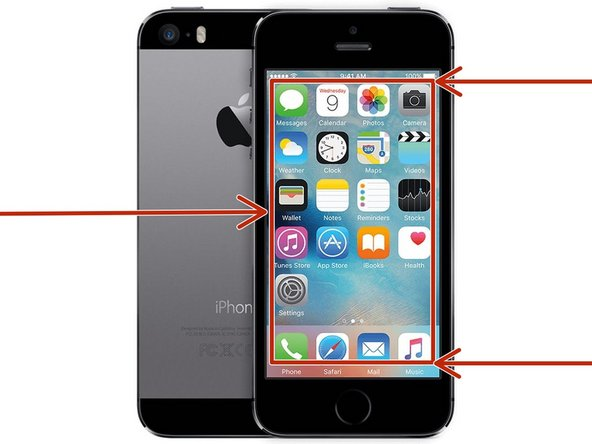 iPhone 5s Glass-Only Screen Repair