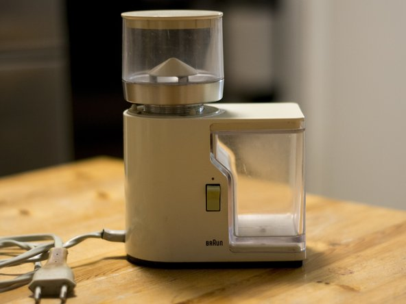 Braun KMM1 Coffe Grinder Disassembly for cleaning
