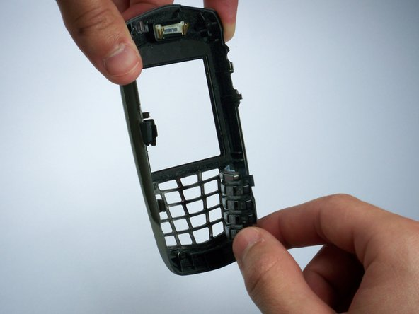 Set aside the bottom part of the phone.