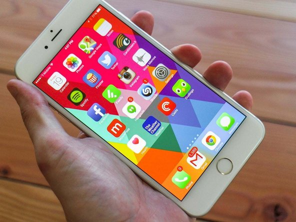 How to fix backlight in an iPhone 6