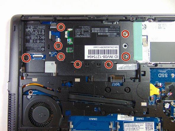 Remplacement du dissipateur et du ventilateur de l'HP Elitebook 840 G1