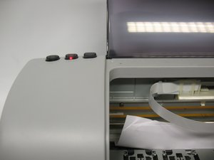 How to clear a Epson Stylus Photo 820 paper jam