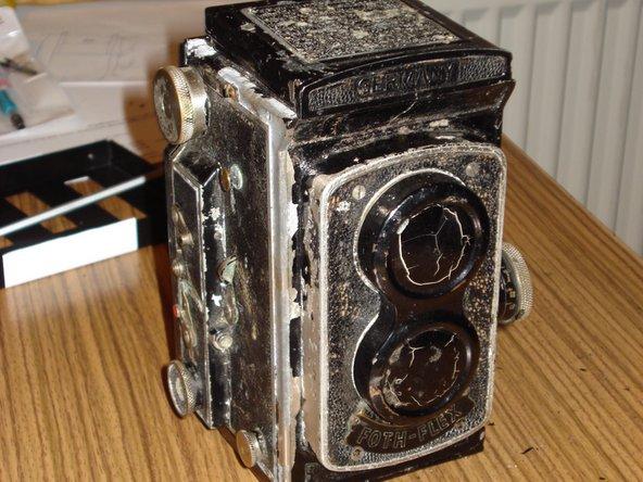 Foth Flex TLR Camera Restoration
