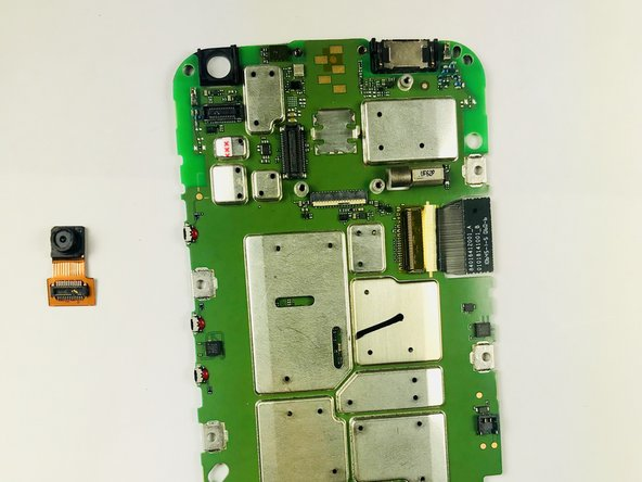 Motorola Moto G3 Front Camera Replacement