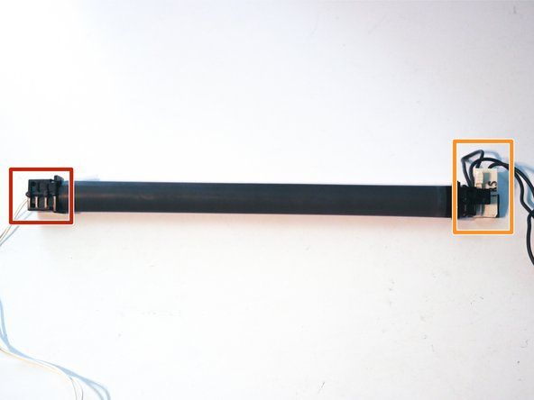 The fuser roller can be removed from the printer.