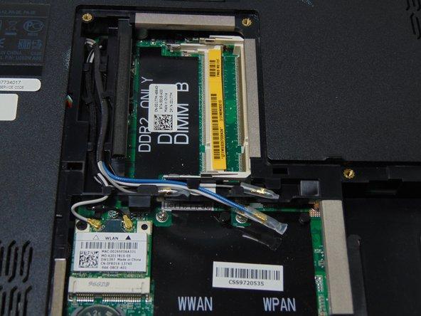 Dell Studio 1555 RAM Replacement