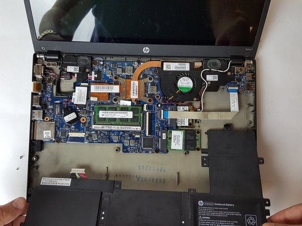 HP Folio 13t-1000 Battery Replacement