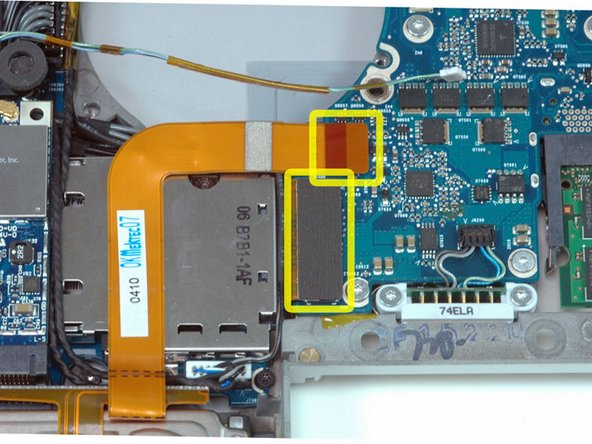 """MacBook Pro 15"""" Core 2 Duo Model A1211 ExpressCard Cage Replacement"""