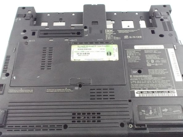 IBM Thinkpad x41t Laptop Wifi Card Replacement