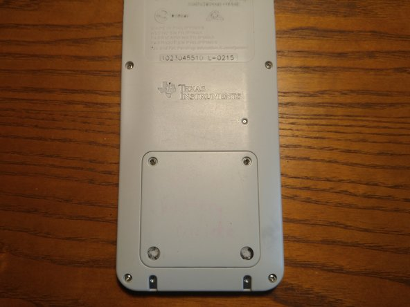Texas Instruments TI-84 Plus CE Battery Replacement