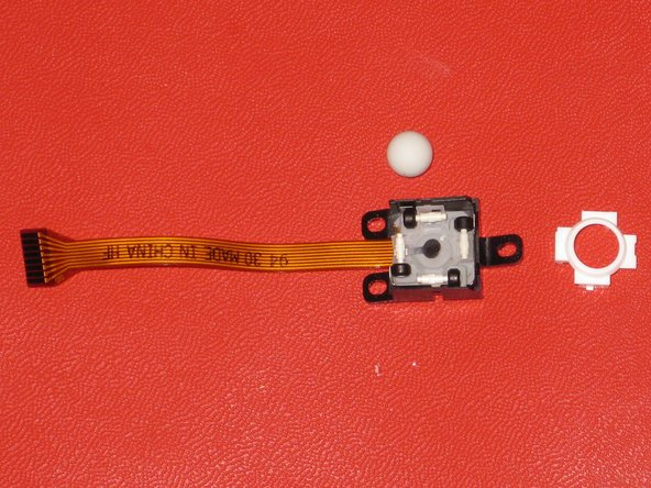 Apple Mighty Mouse Scrollball Disassembly