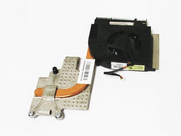 HP dv5-1125nr Fan Replacement