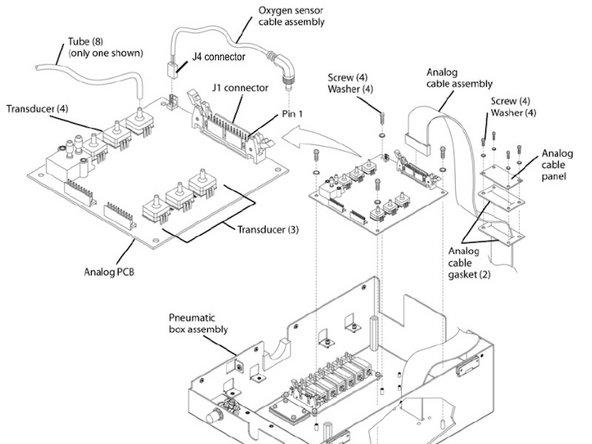 Newport e500 Analog PCB Disassembly