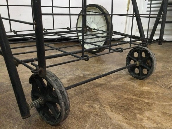 Foldable Grocery Cart Wheels Replacement