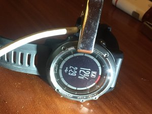"Garmin Fenix 3 HR ""self made charging"""