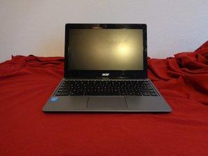 Acer Chromebook C720 Troubleshooting