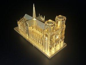 3D Puzzle Teardown - Notre-Dame De Paris