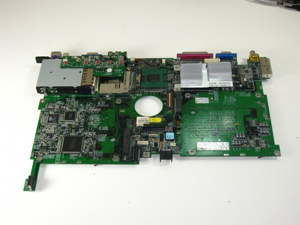 Gateway 600YG2 System Board Replacement
