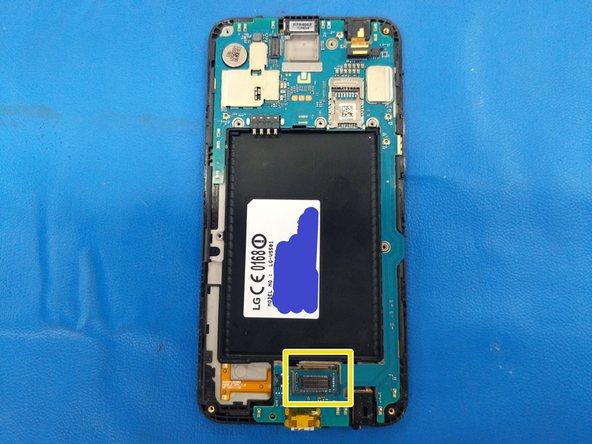 LG K20 PLUS Motherboard Removal