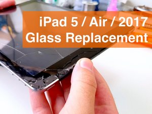 iPad 2017 (5)  Wi-Fi Glass Replacement