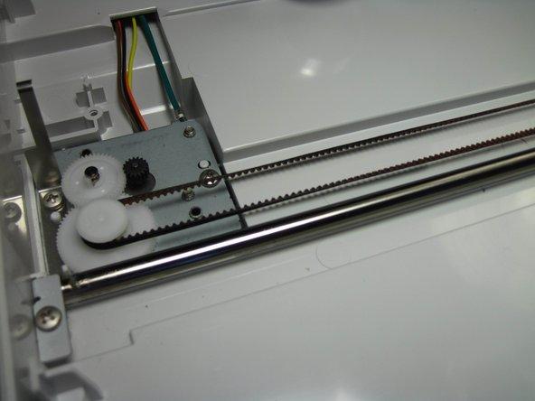 Canon ImageCLASS MF4350d Scanner Belt Replacement