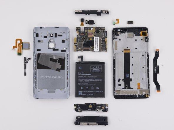 Xiaomi Redmi Note 3 Repairability Assessment