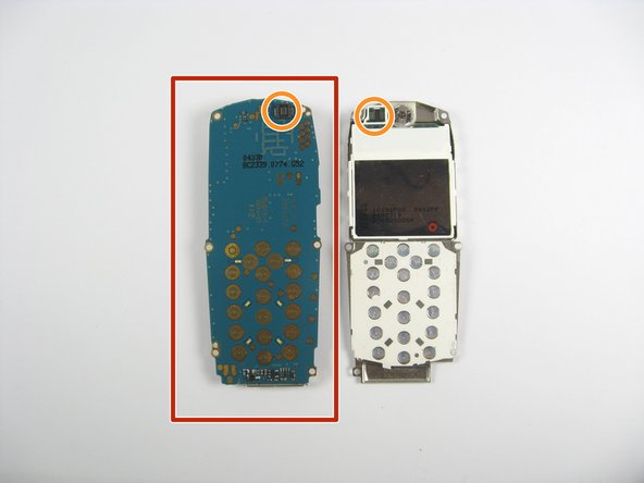Separate the screen from the circuit board.